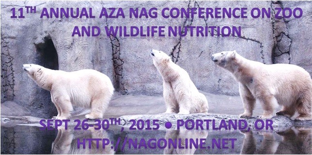2015 NAG Conference on Zoo and Wildlife Nutrition